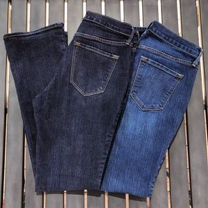 Lot of 2 Old Navy Curvy Bootcut Jeans